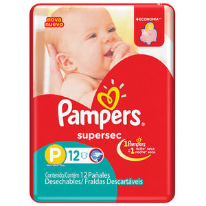 PAMPERS PAÑAL SUPERSEC P