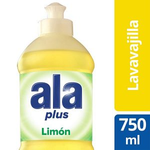 ALA LAVAVAJILLA PLUS 750ML LIMON