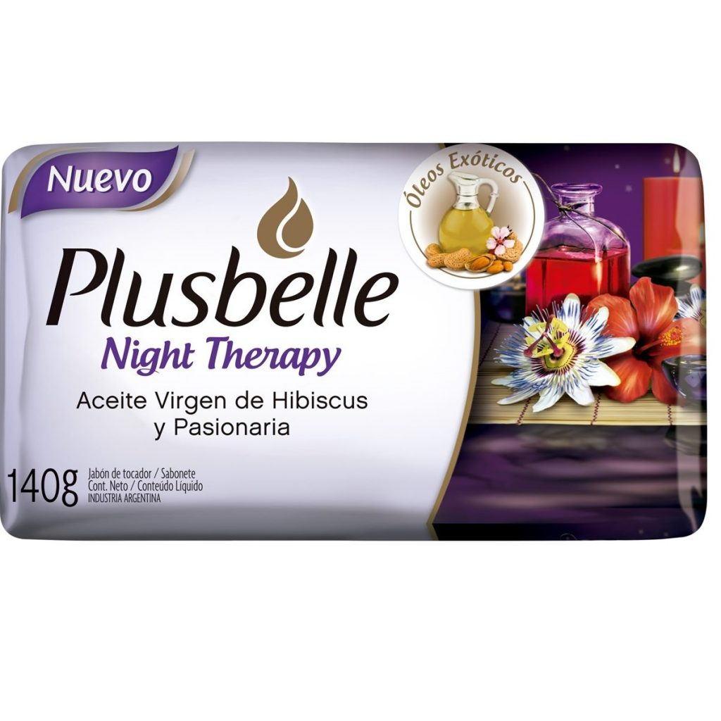 PLUSBELLE JABON DE TOCADOR X 140 GRS NIGHT THERAPY