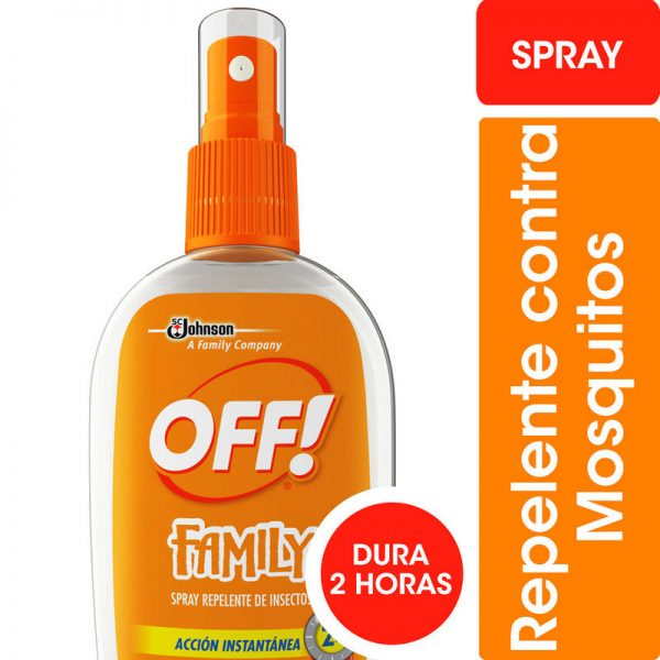 REPELENTE PARA MOSQUITOS OFF! FAMILY SPRAY x 200ml