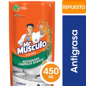 MR MUSCULO LIMPIADOR ANTIGRASA DOY PACK 450ml