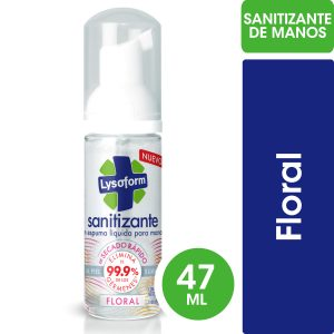 SANITIZANTE PARA MANOS LYSOFORM FLORAL x 47ml