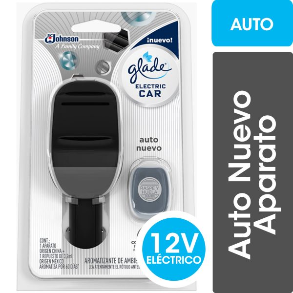 GLADE ELECTRIC CAR FULL AUTO NUEVO 3.2 ML