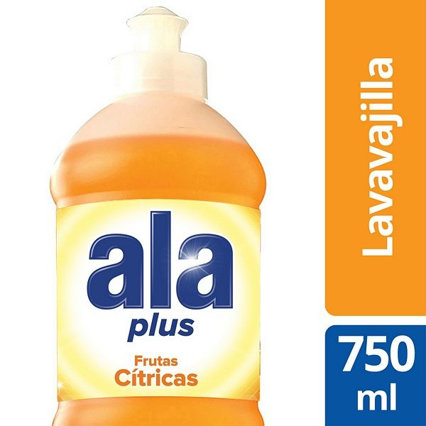 ALA LAVAVAJILLA PLUS 750ML FRUTAS CITRICAS