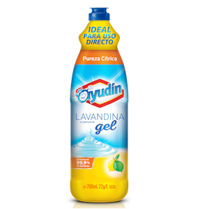 AYUDIN LAVANDINA EN GEL X 700 ML CITRUS