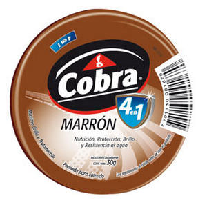 POMADA COBRA MARRON 30 GRS